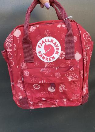 Рюкзак 🎒 kanken mini красный