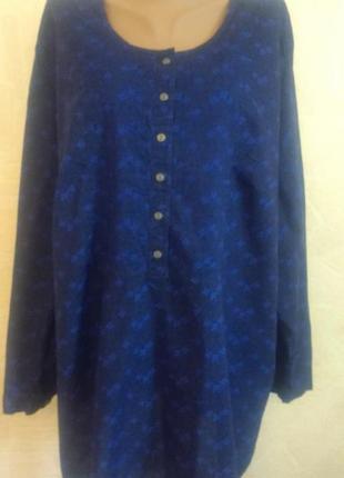 Блузка, рубашка ulla popken 54-56 р.  батал