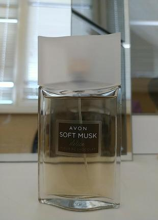 Парфюмированная вода avon soft musk delice 50ml