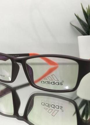 Adidas оправа женская спортивная прямоугольная1 фото