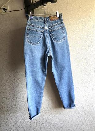 Мом джинсы плотные