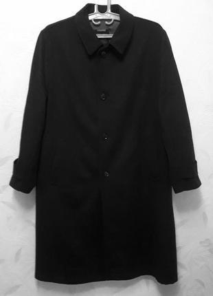 Статусное классическое пальто, 54-56-58, шерсть, кашемир, lodenfrey, германия