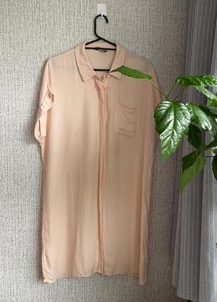 Блуза. длинная.