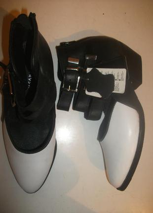 Туфли reserved натуральная кожа