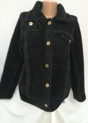 Кардиган пиджак кофта-куртка альпака 7 цветов