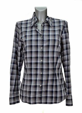 Женская  рубашка в клетку  seidensticker. код 1011(1).