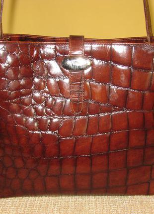 Стильная женская сумка furla кожа