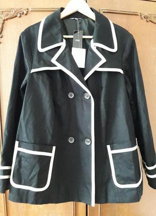 Трендовое качественное пальто батал
