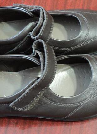 Туфли макасины известной фирмы hotter раз 41-42  состояние новое