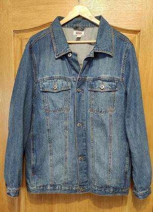 Roger kent мужская джинсовая куртка, пиджак, джинсовка