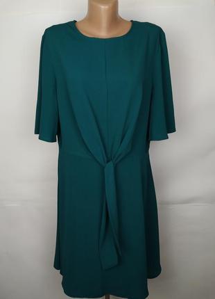 Платье стильное зеленое primark uk 16/44/xl