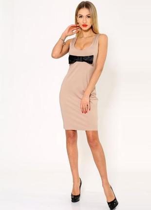 Платье, цвет бежевый