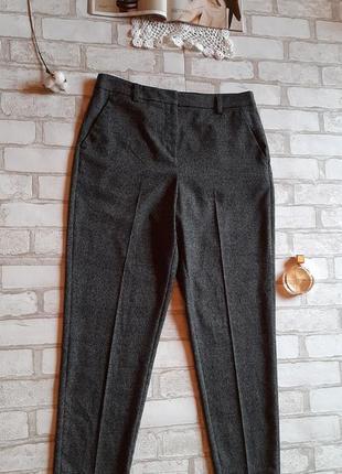 Актуальные базовые зауженные брюки на высокой посадке