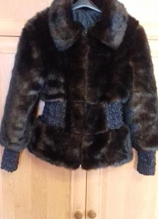 Куртка короткая меховая
