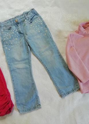 Джинси для дівчинки denim. джинсы