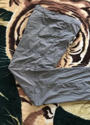 Крутые трекинговые штаны на большого дядю от mammut