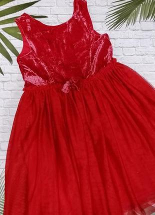 Нарядное платье h&m на 9-10 лет