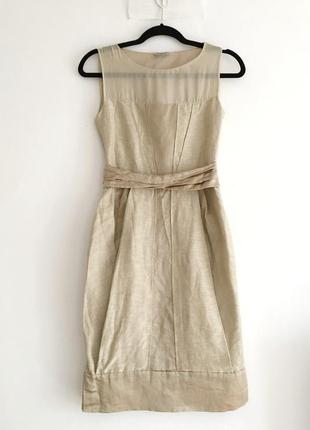 Alberta ferretti кутюрное шелковое платье