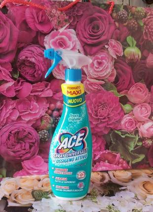 Универсальный ace spray для чистки дома и пятновыводитель для вещей
