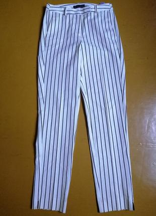 Шикарные брюки в полоску