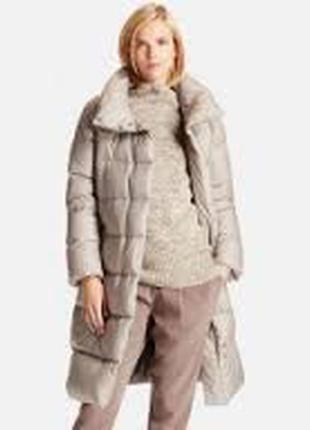 Пальто пуховик ультралегкое теплое юникло uniqlo, размер м