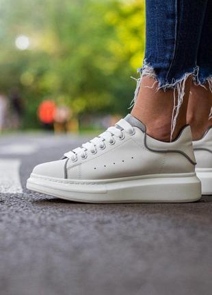 Шикарные кроссовки унисекс alexander mcqueen luxury