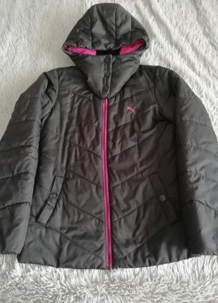 Демісезонна куртка puma. m