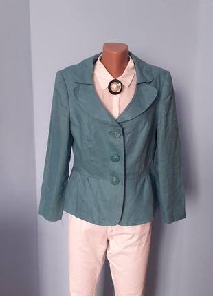Пиджак льняный,жакет лен,пиджак офисный натуральный,пиджак летний