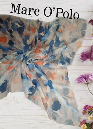 🦄🦄marc o'polo 100 % модал роскошный красивый большой платок в принт 🦄🦄