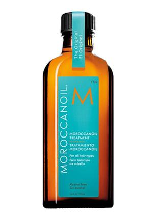 Восстанавливающее масло для волос moroccanoil treatment for all hair types 100 ml