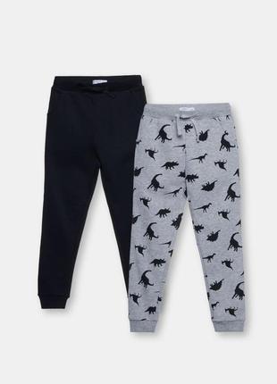 Комплект,набор утеплённых джоггеров, штанов, спортивные штаны,джоггеры