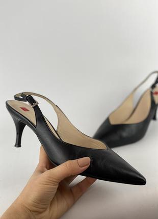 Фирменные туфли лодочки hogl оригинал кожа 38 размер