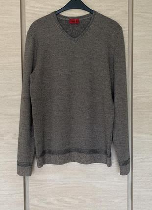 Пуловер эксклюзив премиум класса hugo boss размер xl