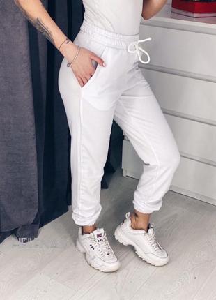 Білі джогери3 фото