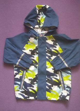 Куртка непромокаемая непромокаюча грязепруф дождевик 98/104 lupilu дощовик