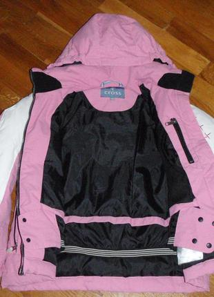 Лыжная, пуховая куртка cross