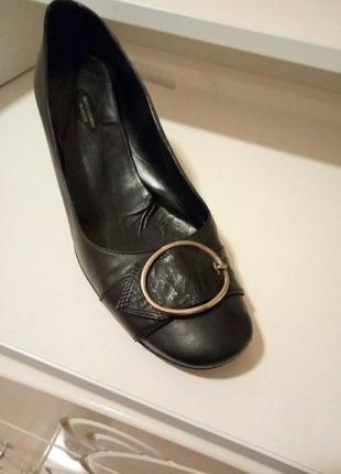 Кожаные туфли, 39
