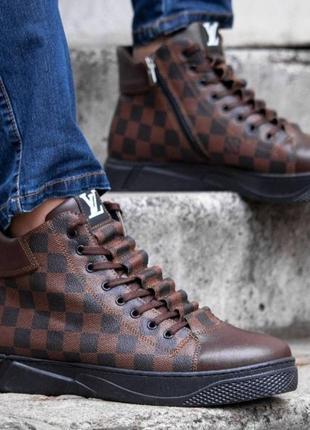 Мужские брендовые кроссовки люкс качества