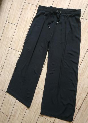 Стильные брюки кюлоты штаны свободного кроя