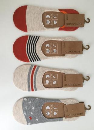 Набор носки следы короткие для кроссовок buwangdu