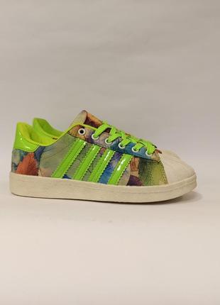 Зеление кроссовки текстиль деми демисезон женские