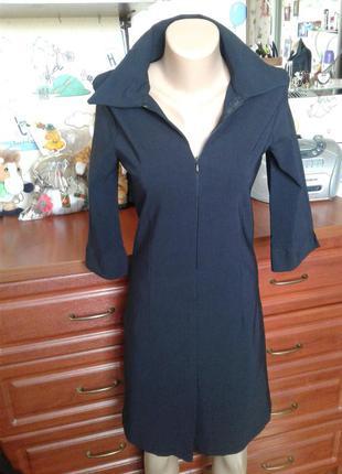 Club donna черное приталенное платье (euro 40) 44-46р