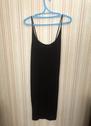 Платье слип комбинация