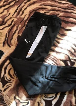 Пушечные спортивные штаны (спортивки, треники) от puma fast track