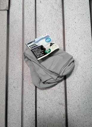 Носки детские подростковые серые три пары демисезон