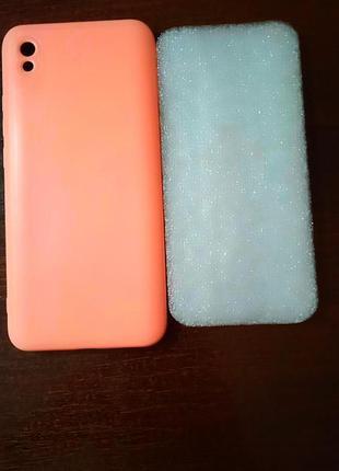 Силиконовый чехол-бампер  для xiaomi redmi 9