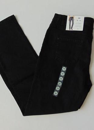 Черные прямые джинсы the straight jeans c&a германия евро 42 short
