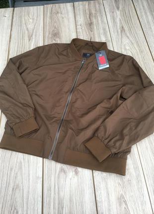 Стильный актуальный бомбер h&m m&s zara asos тренд куртка