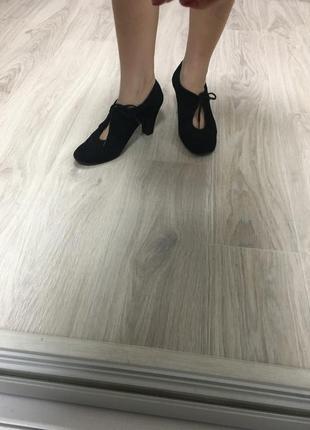 Замшевые туфли john lewis