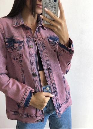 Вареная джинсовая куртка
